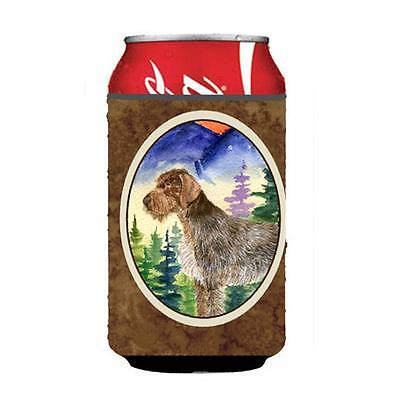 Carolines Treasures German Wirehaired Pointer Can or bottle sleeve Hugger 12 oz.