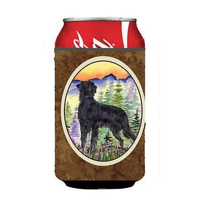 Carolines Treasures Flat Coated Retriever Can Or bottle sleeve Hugger 12 oz.
