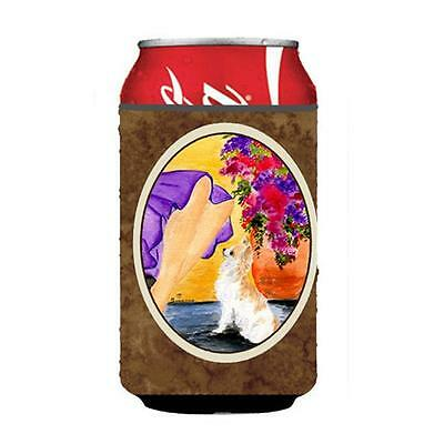 Carolines Treasures Lady With Her Chihuahua Can Or bottle sleeve Hugger 12 oz.