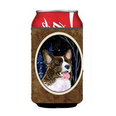 Carolines Treasures SS8387CC Starry Night Corgi Can Or bottle sleeve Hugger