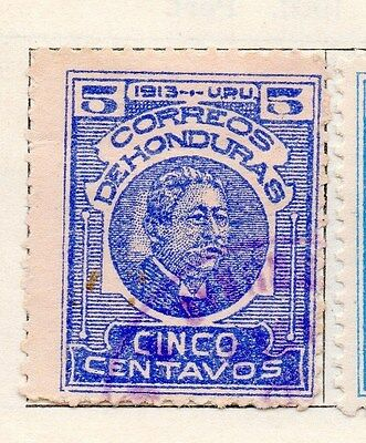 Honduras 1913 Early Issue Fine Used 5c. 154539