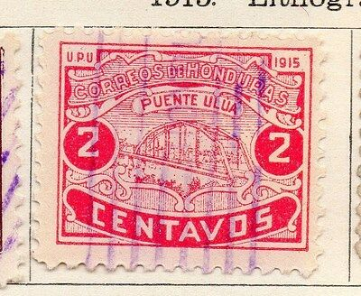 Honduras 1915 Early Issue Fine Used 2c. 154549