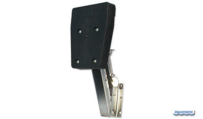 Boat Outboard Auxiliary Motor Bracket- Up To 10Hp Stainless Kicker Bracket