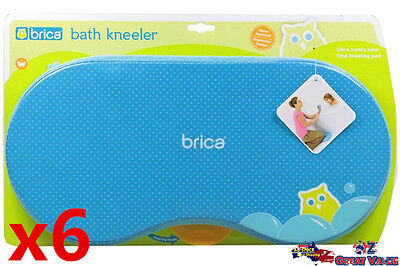 6x Brica Bath Kneeler Mother Knee Protection Baby Care Wholesale Good for Retail