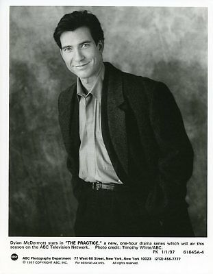 Dylan Mcdermott Smiling Portrait The Practice Original 1997 Abc Tv Photo