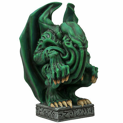 HP Lovecraft Cthulhu Idol Elder Gods Gargoyle Vinyl Coin Bank Diamond Select Toy