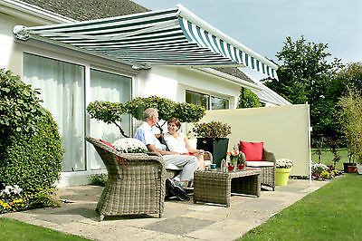 Full Cassette Electric Garden Patio Sun Canopy Awning Shade Retractable Cover