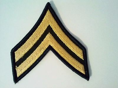 Army Private E2 Rank Patches USGI Brand New USA Military Issued Pair of U.S