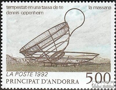 Andorra-French Post 445 mint never hinged mnh 1992 Art