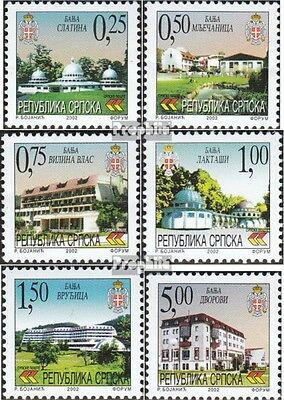 Serbian Republic bos.-h 245-250 mint never hinged mnh 2002 Spas