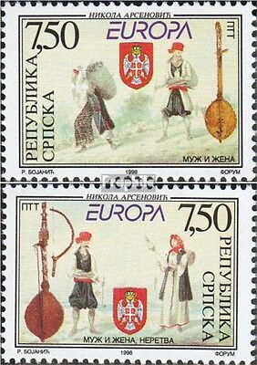 Serbian Republic bos.-h 105-106 mint never hinged mnh 1998 National Celebrations