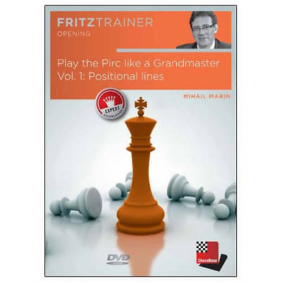Play the Pirc Like a Grandmaster - Positional Lines - Mihail Marin - VOL. 1 Ches