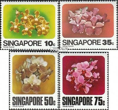 Singapore 325-328 mint never hinged mnh 1979 Orchids