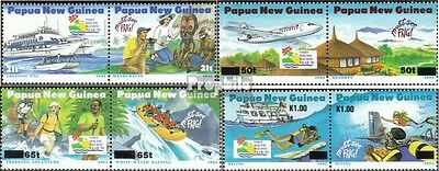 papua-Guinea 733-740 Couples mint never hinged mnh 1995 Tourism