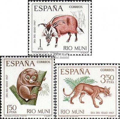 rio Muni 80-82 mint never hinged mnh 1967 Day the Stamp