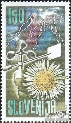 slovenia 312 mint never hinged mnh 2000 150 years meteorological Aufzeichn