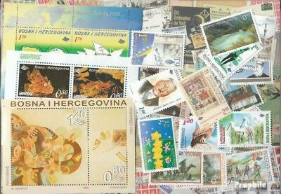 Bosnia-Herzegovina 2000 mint never hinged mnh Complete Volume in clean Conservat