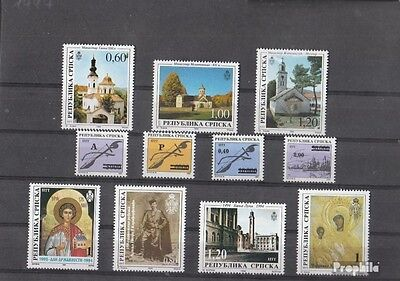 Serbian Republic bos.-h 1994 mint never hinged mnh Complete Volume in clean Cons