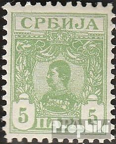 Serbia 44 mint never hinged mnh 1896 clear brands