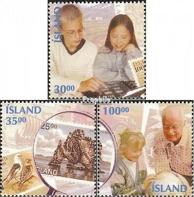 Iceland 812-814 mint never hinged mnh 1994 Stamps Collecting