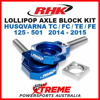 Rhk Lollipop Axle Block Blue Husqvarna Tc Fc Te Fe 125 250 350 450 501 14-2015