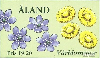 Finland-Aland MH5 fine used / cancelled 1997 Spring flowers