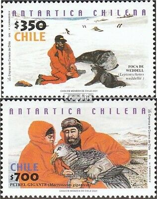 Chile 2028-2029 mint never hinged mnh 2001 Chilenische Antarctic Research