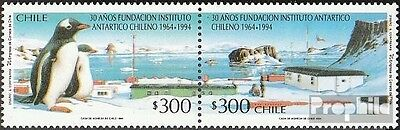 Chile 1610-1611 Couple mint never hinged mnh 1994 Chilenisches Antarktisinstitut