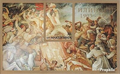 Macedonia block1 mint never hinged mnh 1993 Ilinden-Uprising