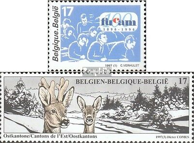 Belgium 2733,2739 mint never hinged mnh 1997 special stamps
