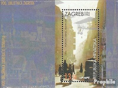 Croatia block10 mint never hinged mnh 1994 Diocese Zagreb