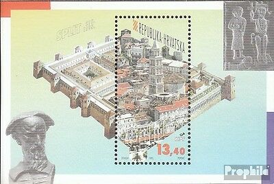 Croatia block12 mint never hinged mnh 1995 City Split