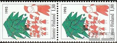 Finland 1233Do/You vertical Couple mint never hinged mnh 1993 christmas