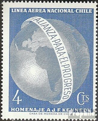 Chile 624 mint never hinged mnh 1964 Bündnis for the Progress