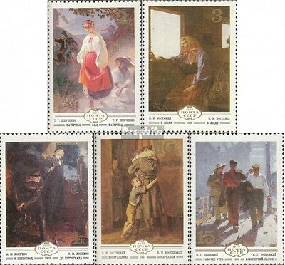 Soviet-Union 4893-4897 mint never hinged mnh 1979 Paintings ukrainian Painters