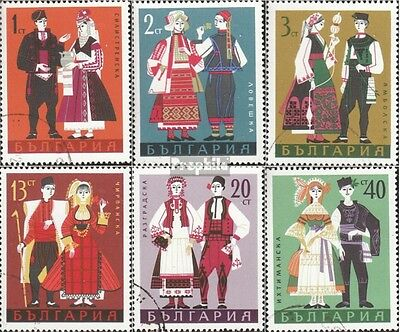 Bulgaria 1842-1847 fine used / cancelled 1968 Costumes