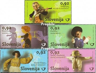 slovenia 854-858 mint never hinged mnh 2010 slovenian puppet theater