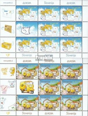 slovenia 682-683 Sheetlet mint never hinged mnh 2008 Europe: the Letters