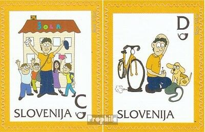 slovenia 950-951 mint never hinged mnh 2012 clear brands: Postman Pauli
