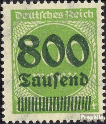 German Empire 307 tested fine used / cancelled 1923 Hyperinflation