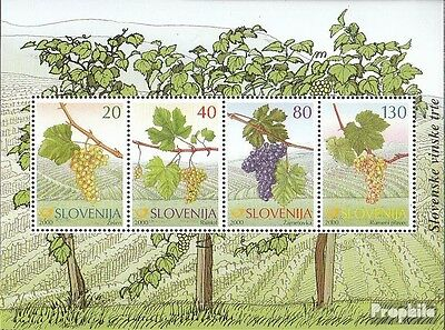 slovenia block11 mint never hinged mnh 2000 Old Grapes