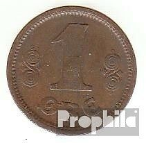 Denmark km-number. : 812 1915 extremely fine Bronze extremely fine 1915 1 Öre Ge