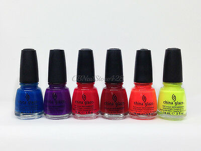 China Glaze Nail Lacquer- INK Collection - Choose Any Color