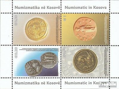 kosovo (UN-Administration) block4 fine used / cancelled 2006 Historical Coins