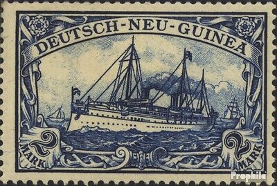 German-Guinea 17 with hinge 1901 Ship Imperial Yacht Hohenzollern