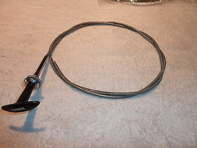 Choke Cable Universal 1400 Mm Long New.