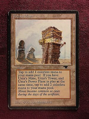 Urza's mine tower-Antiquities    MTG Magic     (see scan)