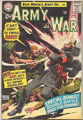 Our Army At War #157 (5.5) 1965