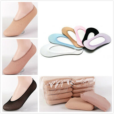 10Pair Lot NEW Women Girls Invisible Footsies Shoe Liner Trainer Ballerina Socks