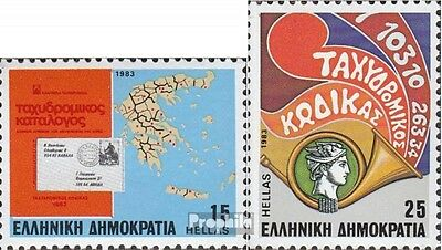 Greece 1511-1512 (complete issue) unmounted mint / never hinged 1983 Postcodes
